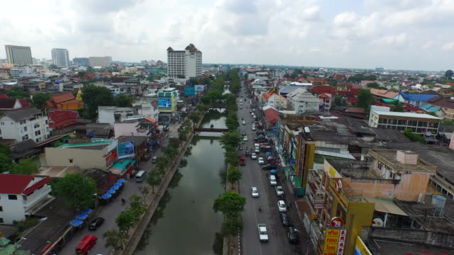 old city moat / chiang mai, thailand - moat stock videos & royalty-free footage