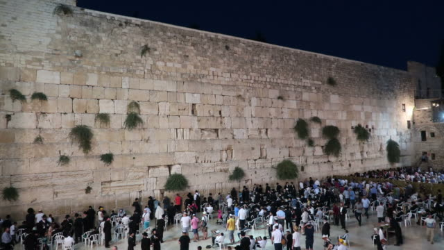 old city of jerusalem - wailing wall stock videos & royalty-free footage