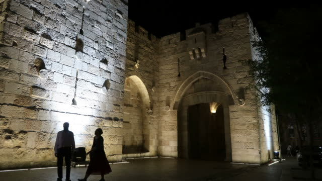 old city of jerusalem - jerusalem old city stock videos and b-roll footage