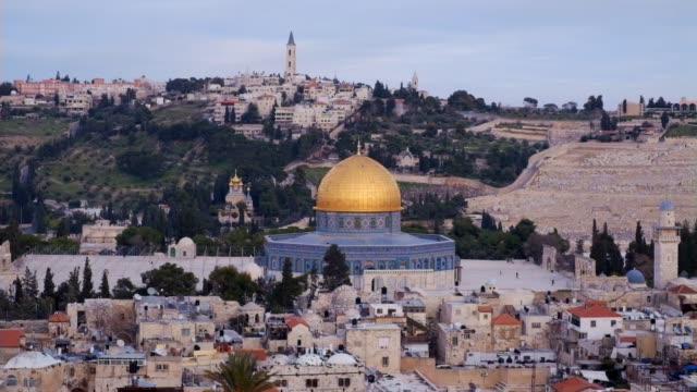 old city of jerusalem - jerusalem stock videos and b-roll footage