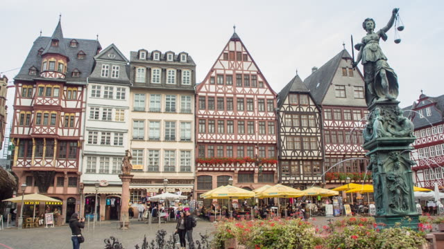 Old City Part of Frankfurt
