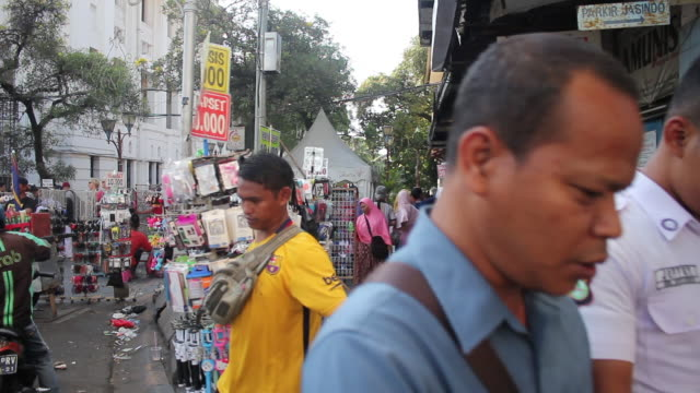 old city tourism at jakarta - indonesian ethnicity stock videos & royalty-free footage
