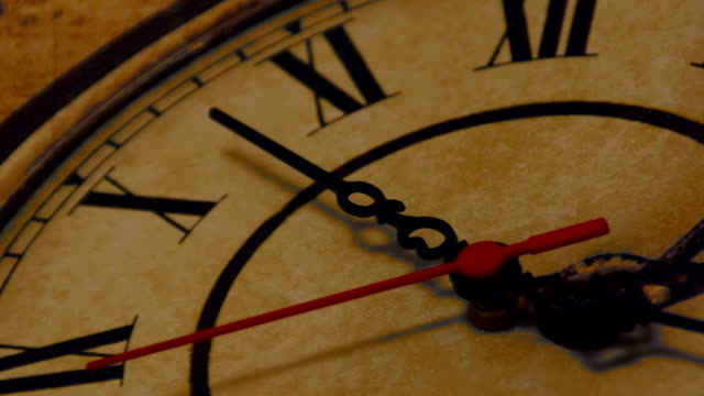 old clock - second hand stock videos & royalty-free footage
