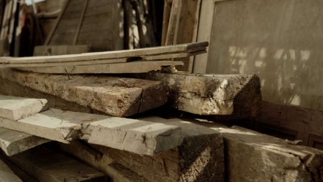 old construction wood - timber stock videos & royalty-free footage
