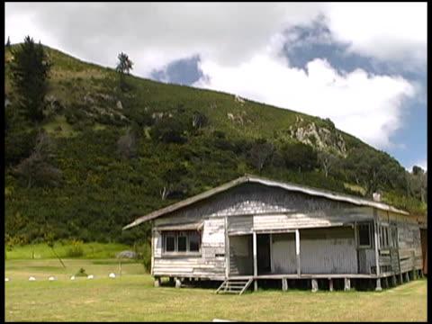 old derelict farmhouse - farmhouse stock videos & royalty-free footage