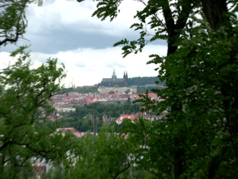 old europe: prague castle, zoom in - eastern european culture stock videos & royalty-free footage
