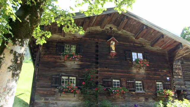 MS old farmhouses at gerstruben / Oberstdorf, Bavaria, Germany