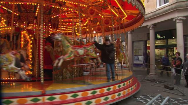 MS PAN Old fashion carousel / Bath, Somerset, United Kingdom