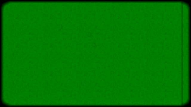 Alte Film-grünen Bildschirm filtern