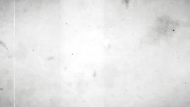 Old Film Loop - Black & White with Audio