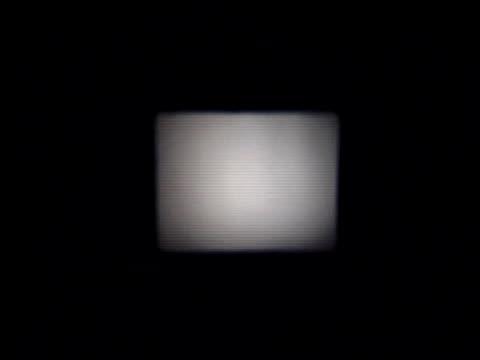 vidéos et rushes de ancien projecteur de film intro - projection screen