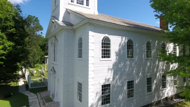 old first church of bennington - new england usa stock videos & royalty-free footage