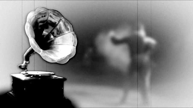 old gramophone - tango dance stock videos and b-roll footage