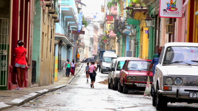 Old Havana, Cuba: zoom out from the everyday lifestyle on a non-tourist area in the heritage city