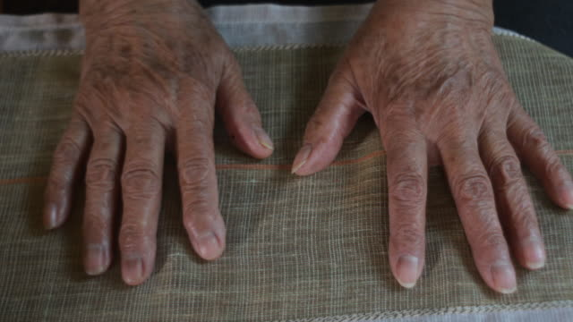 old human hands - 80 89 years stock videos & royalty-free footage