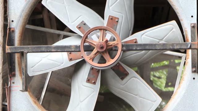 Old industrial ventilator