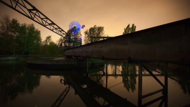 (time lapse) old industry - ruhr stock videos & royalty-free footage
