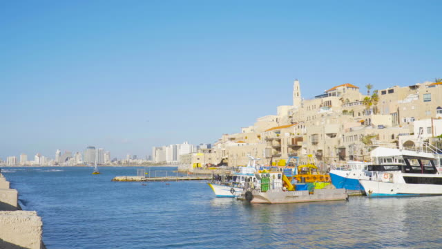 TEL AVIV: Old Jaffa city view and Port