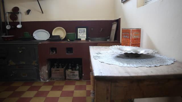 Alta Gracia Argentina February 08 2012 Old kitchen in the building of the Che Guevara Museum in Alta Gracia Cordoba Argentina where Ernesto 'Che'...