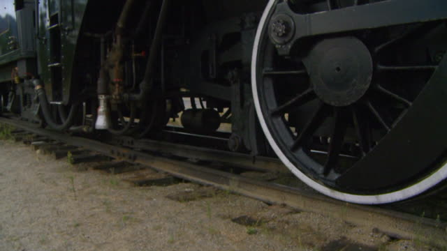 stockvideo's en b-roll-footage met old locomotive - locomotief