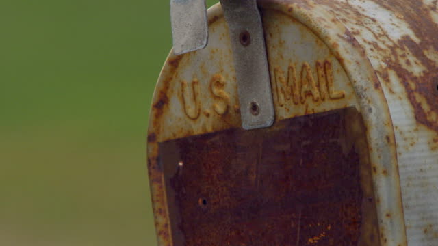 old mailboxes close up - united states postal service stock videos & royalty-free footage