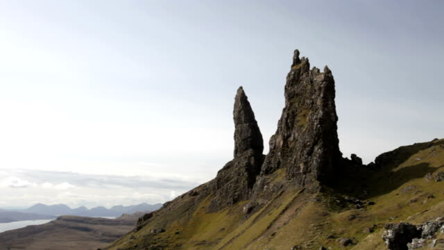 old man of storr - skye stock videos and b-roll footage