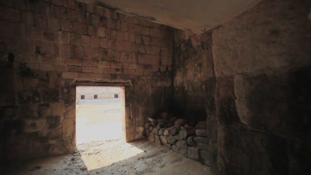 ms pan tu old mayan ruins, uxmal, yucatan, mexico - puuc region stock videos and b-roll footage