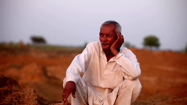 old men sitting portrait outdoor in the nature - farmer stock videos & royalty-free footage