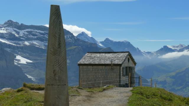 Old Mitteleggi Hut, Kleine Scheidegg, Grindelwald, Bernese Oberland, Canton of Bern, Switzerland