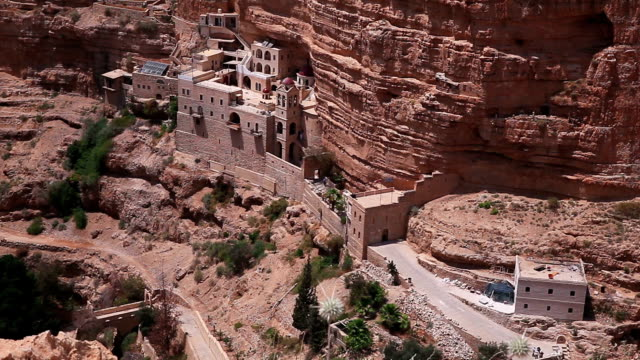 Old monastery in the gorge