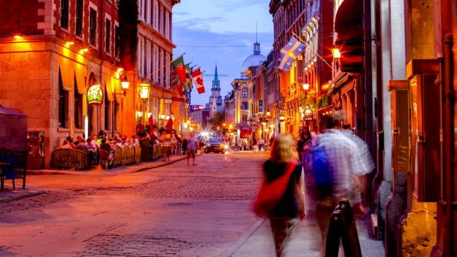old montreal, qc - montreal video stock e b–roll