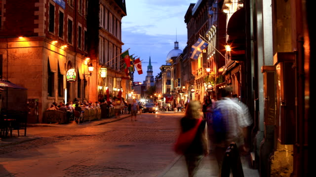 old montreal - montréal stock-videos und b-roll-filmmaterial