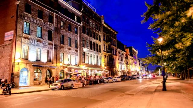 モントリオール旧市街 - モントリオール旧市街点の映像素材/bロール