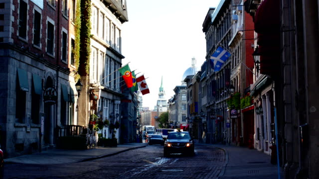 old montreal - french culture stock videos & royalty-free footage