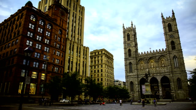 old montreal - montréal stock videos & royalty-free footage