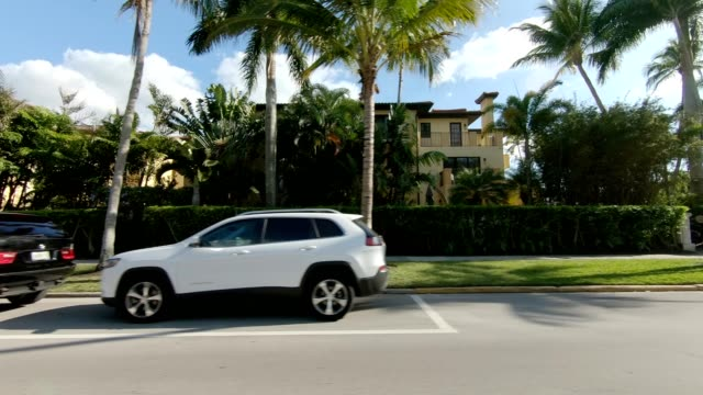 old naples iii synced series left view driving process plate - naples florida stock videos & royalty-free footage