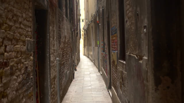 old narrow alley - narrow stock videos and b-roll footage