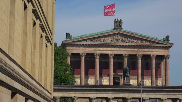 Old National Gallery, Museumsinsel, Berlin, Germany