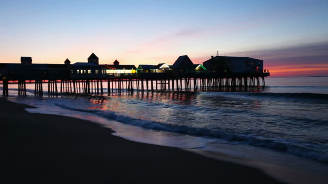 vidéos et rushes de old orchard beach - maine