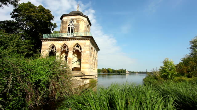 old pavilion (potsdam/germany) - potsdam brandenburg stock videos & royalty-free footage