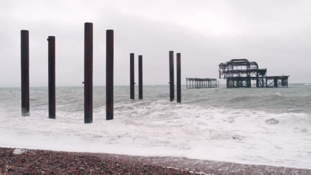 old pier - pier stock videos & royalty-free footage