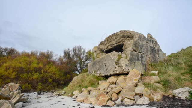 Old Pill Box coastal defence-Finistere