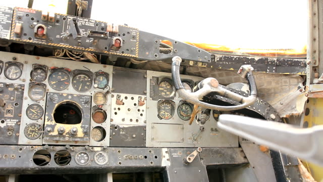 Old Plane Dashboard.