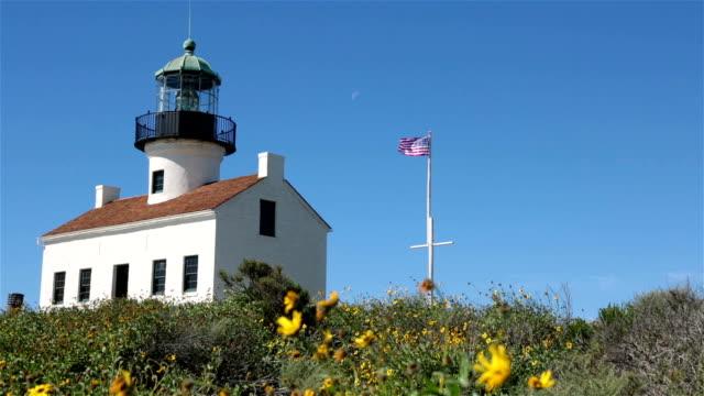 Leuchtturm von Old Point Loma, San Diego, Kalifornien