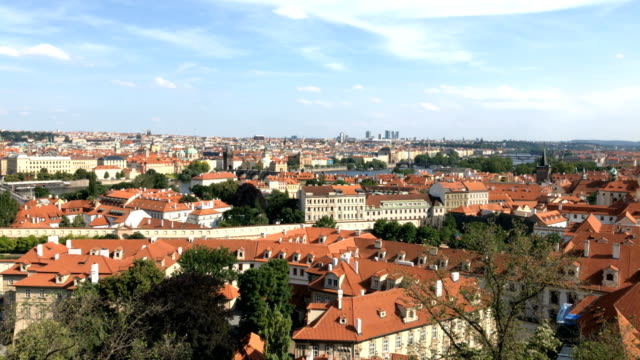 old prague roofs - czech culture stock videos & royalty-free footage