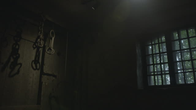 old prison cell - dungeon stock videos & royalty-free footage