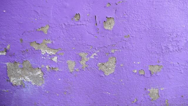 stockvideo's en b-roll-footage met oude paarse muur achtergronden - surrounding wall