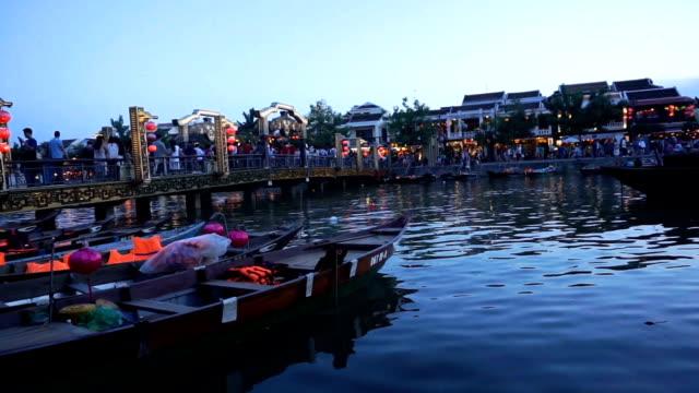 old quarter of hoi an , vietnam - danang stock videos & royalty-free footage