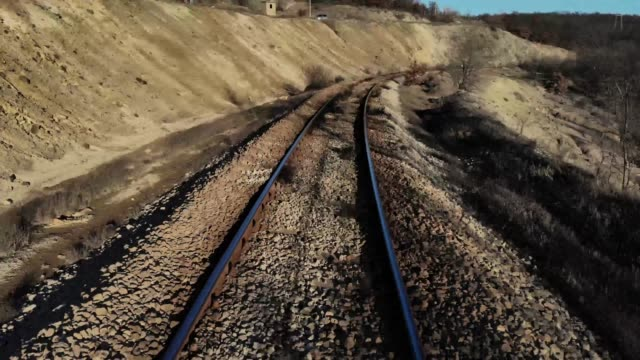 old railway track - in a row stock videos & royalty-free footage
