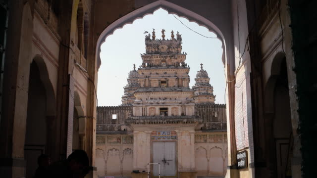 Old Rangji Temple, a Hindu temple, in the sacred town of Pushkar, Rajasthan